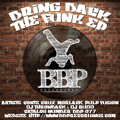 New funky EP: Bring Back The Funk – out now on digital!