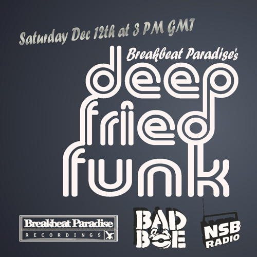 Breakbeat Paradise Presents: Deep Fried Funk – Show #1 – Live on NSB Radio