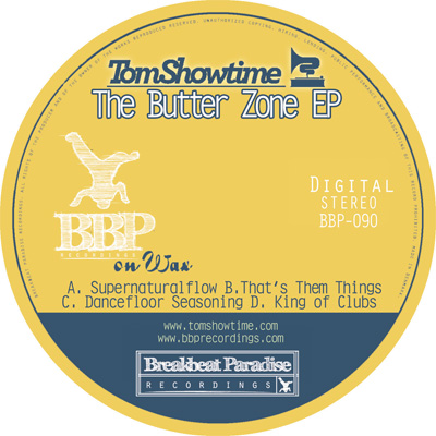 Tom Showtime – The Butterzone EP – Out now on Digital!