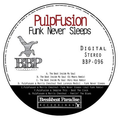 Pulpfusion – Funk Never Sleeps – Out Now on Digital.