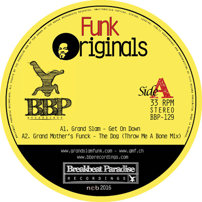 GRAND SLAM/GRAND MOTHERS FUNCK/NASA FUNK/A MAN ABOUT A DOG: Funk Originals – Out Now!