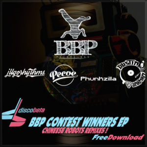 BBP-FreeEP01: DiscObeta – Chinese Robots – Contest Winners EP