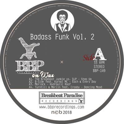 VA – Badass Funk Vol. 2 – Out now on 12″ Vinyl