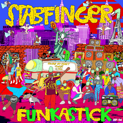 Stabfinger – Funkastick EP – Out Now Exclusive on Juno Download!