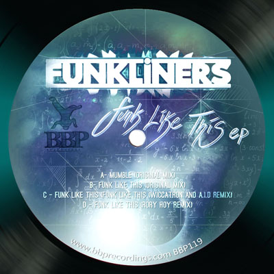Funkliners – Funk Like This EP – Out now!