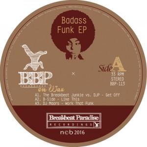 BBP-113: VA – Badass Funk EP [12″ Vinyl]