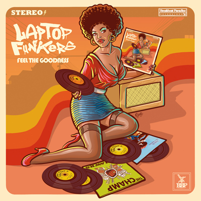 Laptop Funkers – Feel The Goodness [12″ Vinyl] *Out Now*
