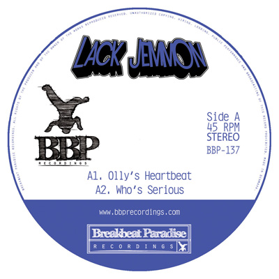 Lack Jemmon EP – Out now on 12″ Vinyl