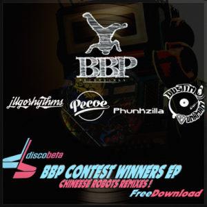 BBP-FreeEP01: DiscObeta – Chinese Robots – Contest Winners EP